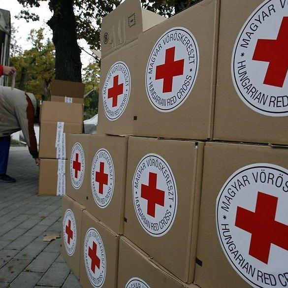 Червоний Хрест відправив на Донбас майже 300 тонн гумдопомоги