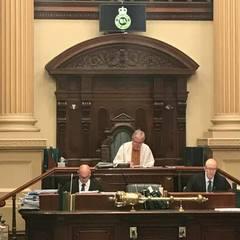В Австралії спікер парламенту одягнув вишиванку, щоб вшанувати загиблих на Донбасі (фото)