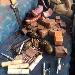 У Бахмуті поліція викрила автомобіль із боєприпасами