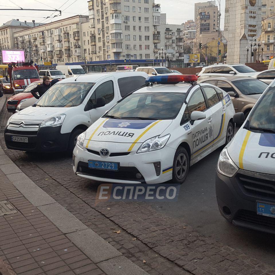 В Києві повідомили про замінування 11 об'єктів (фото)