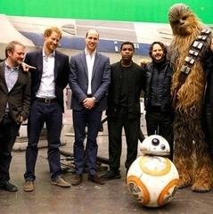 Принц Вільям та Гаррі знялись у «Зоряних війнах»