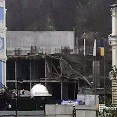 У Києві обвалилась новобудова (фото)