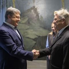 Порошенко провів зустріч із Девідом Лінчем, який відкриває в Україні фонд психологічної допомоги