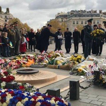У центрі Парижа вшанували пам'ять жертв Голодомору