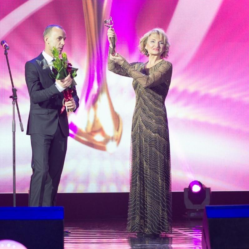 Ірина Луценко стала переможницею Всеукраїнської премії «Жінка III тисячоліття»