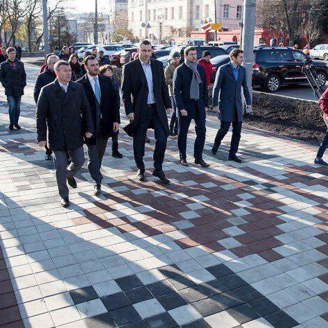 Кличко: Капітальний ремонт вул. Володимирської, за планом, буде завершений наступного року