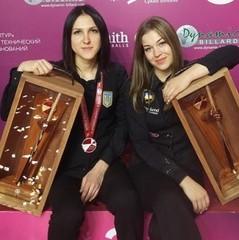 Українки вибороли срібло на чемпіонаті світу з більярдного спорту
