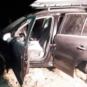 Збройний напад на авто: забрали 30 кіло золота