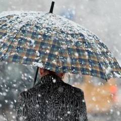 Сьогодні в Україні місцями пройдуть дощі з мокрим снігом (карта)