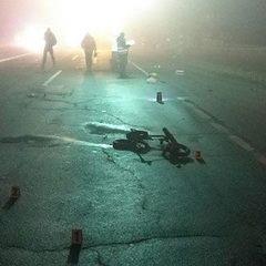 На трасі Київ-Чернігів водій на смерть збив жінку з двома дітьми