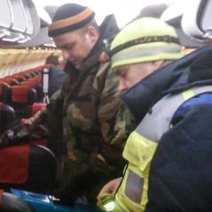 У «Борисполі» на борту одного з літаків розбили ртутний градусник - ДСНС