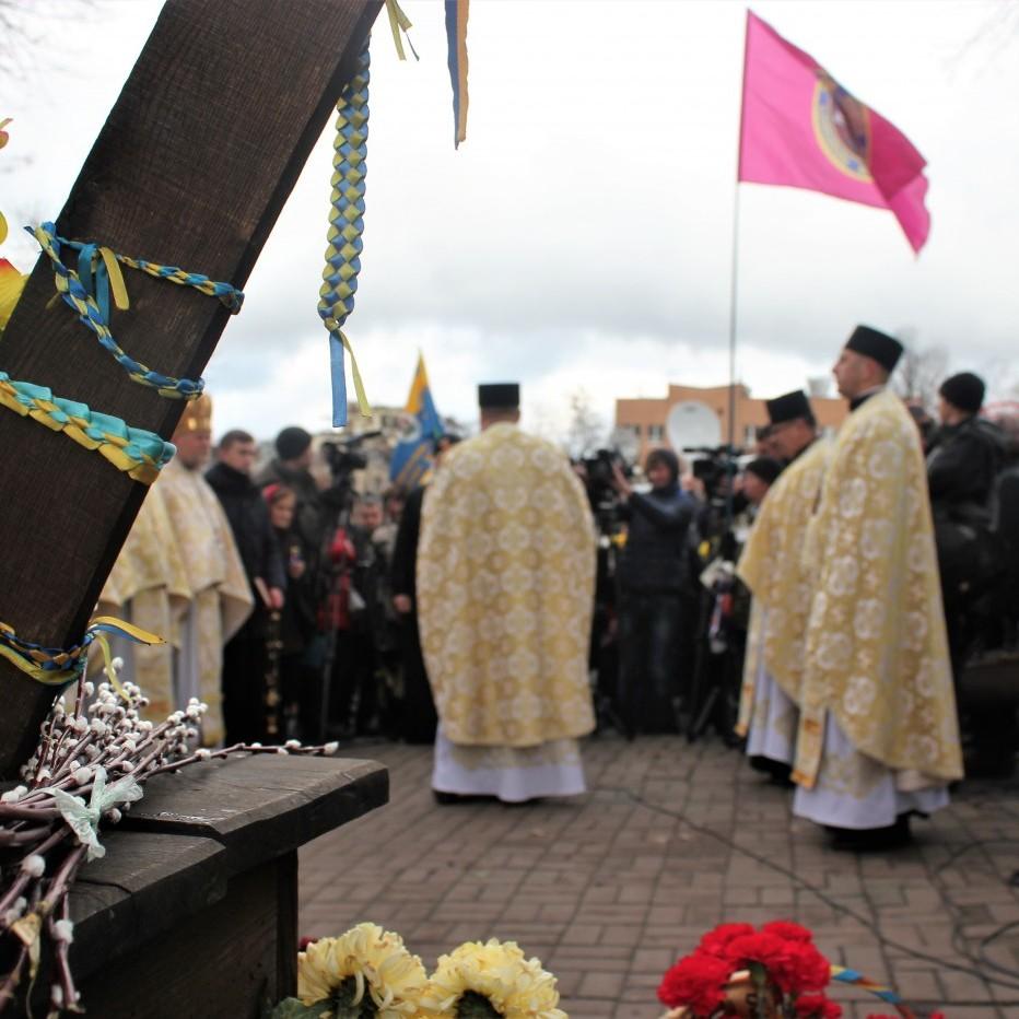 У столиці відбувся молебень пам'яті Героїв Небесної сотні (фото)
