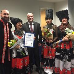 Український гурт отримав почесну грамоту у США (фото)