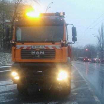 Київавтодор заявив про готовність понад сотні снігоприбиральних машин до погіршення погоди