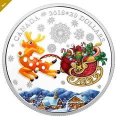 Українка розробила дизайн ексклюзивних різдвяних монет для Канади (фото, відео)