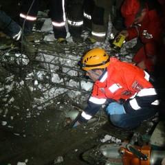 В Івано-Франківську обвалилася стіна новобудови, є загиблий (фото, відео)