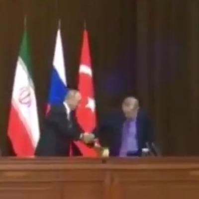 Путін впустив стілець Ердогана (відео)