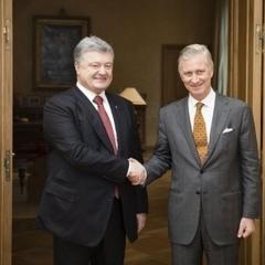 Король Бельгії розповів Порошенку, як він спав на підлозі в київській квартирі