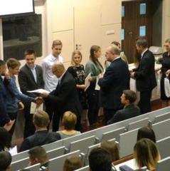 Влада міста Кєльце надала 155 студентам з України стипендії