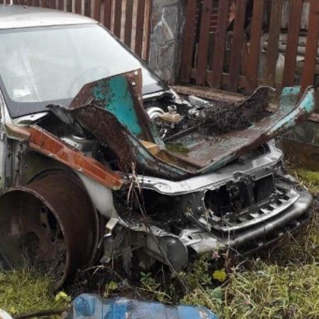 На Закарпатті підірвали автомобіль депутата (фото)
