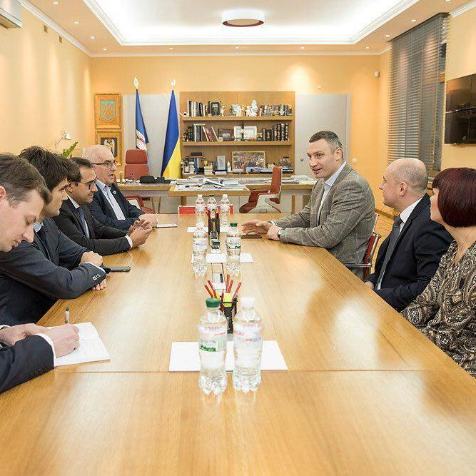 Кличко і голови асоціацій міст Польщі та Франції домовилися поглиблювати співпрацю
