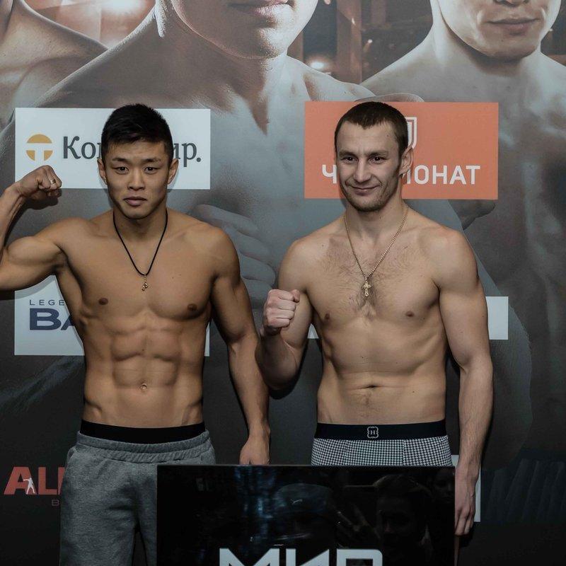 Український боксер у Москві жорстко нокаутував росіянина