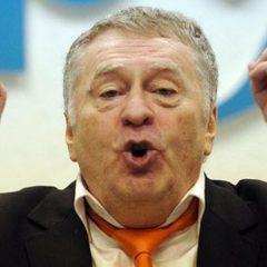 Жириновський зізнався в любові до «підполковника» Порошенка (відео)
