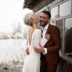 Зірки Голосу Країни Віра Кекелія та Роман Дуда одружилися (фото)