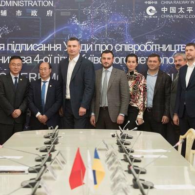 Кличко: Китайські компанії готові побудувати четверту гілку метро за 5 років