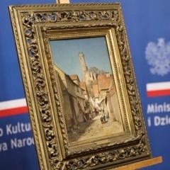 До Польщі  повернулась картина, загублена під час Другої світової війни