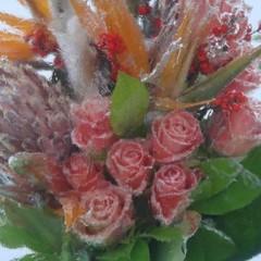 На Співочому полі відкриють виставку заморожених квітів