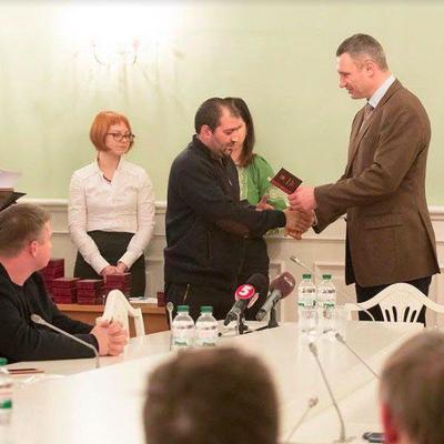 Кличко вручив нагороди киянам-учасникам Революції Гідності