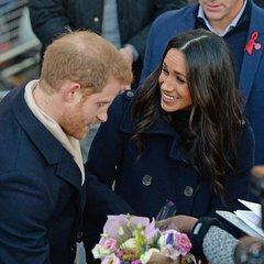 Наречена принца Гаррі вперше в новому статусі вийшла на публіку (відео)