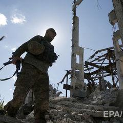 За минулу добу в зоні АТО постраждало троє українських військових – штаб
