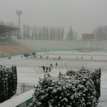 У Львові через сніг скасували другий тайм поєдинку «Карпати» – «Олімпік»