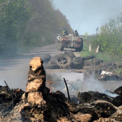 На Луганському напрямку бойовики обстріляли мирний населений пункт Врубівка