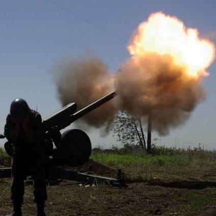 Штаб АТО: російські найманці 13 раз відкривали вогонь по українських позиціях