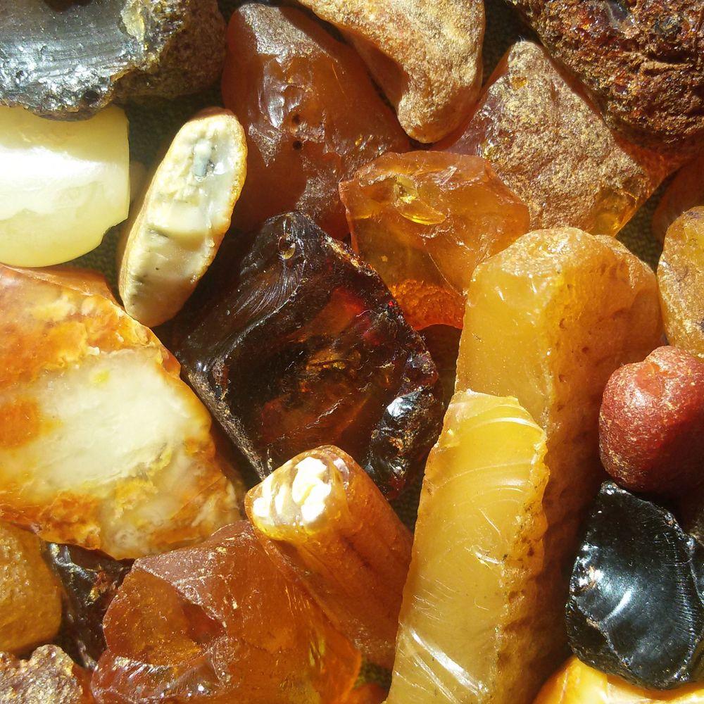 На Рівненщині під час обшуків вилучили понад тонну бурштину на 10 млн грн