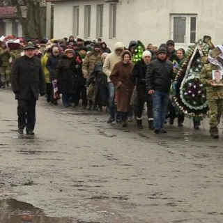 На Одещині попращалися із військовим, який загинув в зоні АТО