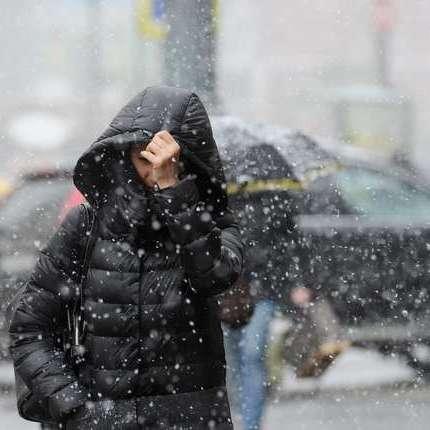 Україну сьогодні накриють дощі та мокрий сніг, найтепліше буде на півдні - до +7° (карта)