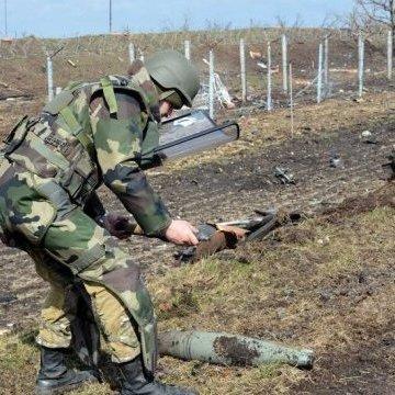 З початку АТО на Донбасі сапери ЗСУ знешкодили 175 тисяч мін