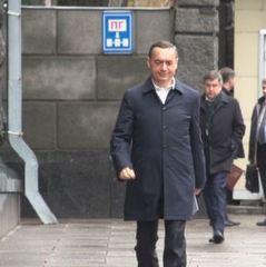 Журналісти зафіксували як до АП ходять Мартиненко та Розенблат