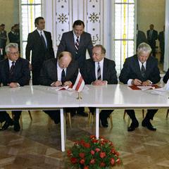 Цього дня в Біловезькій Пущі була підписана угода про ліквідацію СРСР