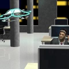 У Японії розробили дрона, який буде проганяти трудоголіків з роботи