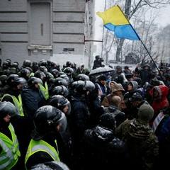 Прихильники Саакашвілі завершили мітинг біля ГПУ (фото)