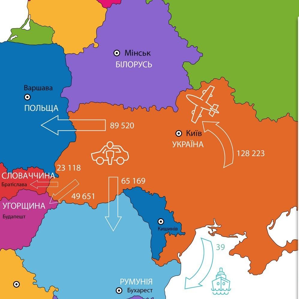 Півроку безвізу:  прикордонники повідомили, скількі українців скористалися перевагами спрощеної системи