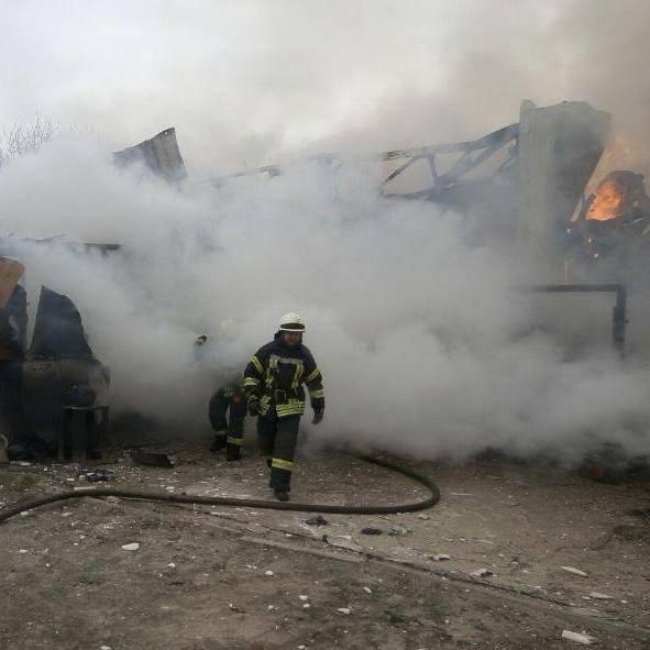 У ДСНС повідомили подробиці щодо пожежі на Русанівських садах