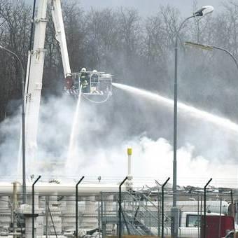 Газорозподільна станція у Австрії, на якій стався вибух, відновила роботу