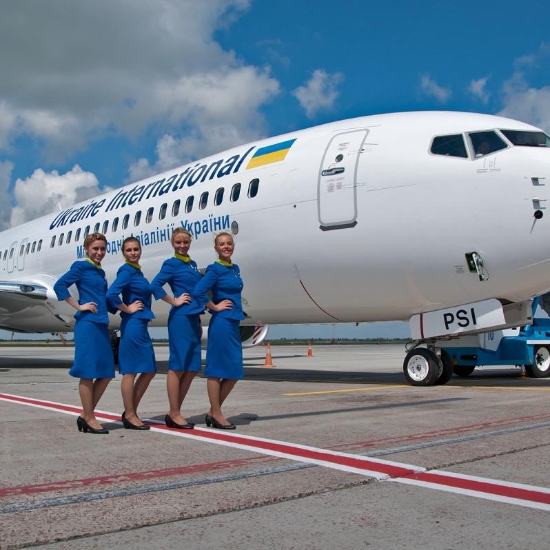 Пасажирські перевезення українських авіакомпаній зросли втричі