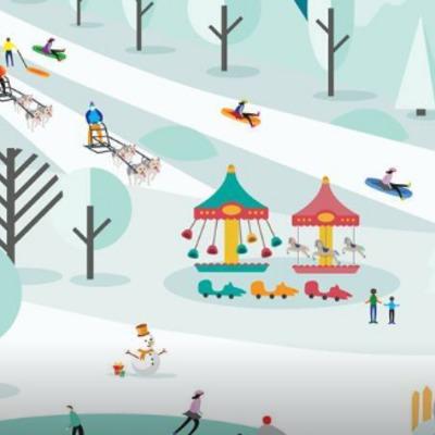 Завтра на Співочому полі розпочинається новорічний фестиваль «Льодовиковий період»